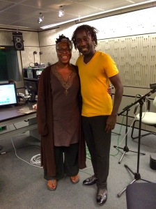 Bola Mosuro& Amadou @ BBC Studio interview (1)